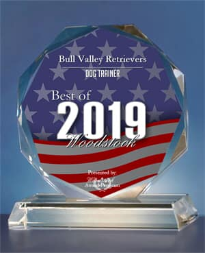 Bull Valley Retrievers Receives 2019 Best of Woodstock Award